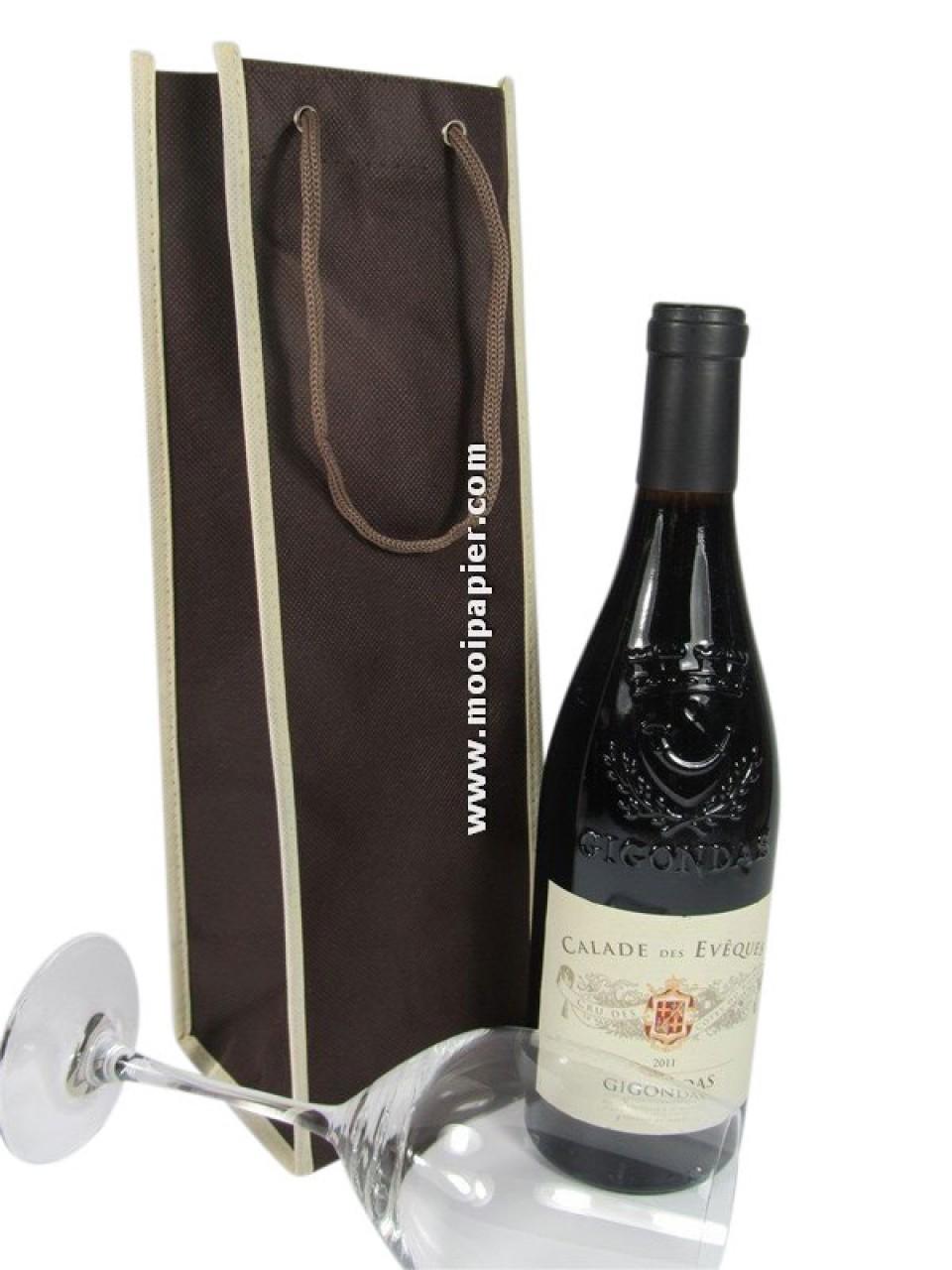 fleszak voor verpakking wijnfles