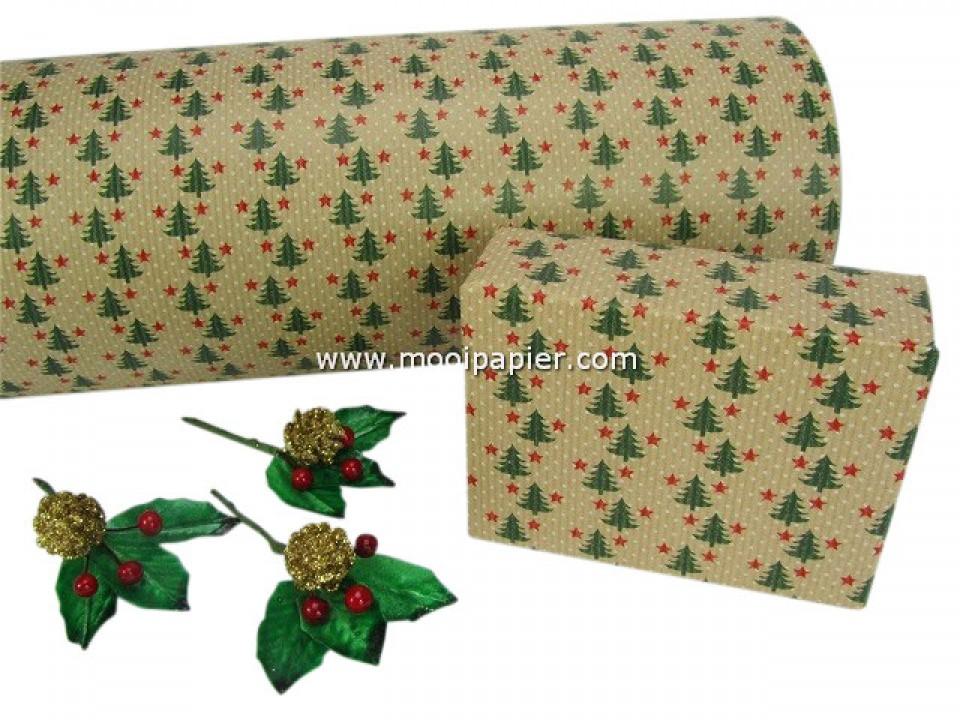 Kerst inpakpapier